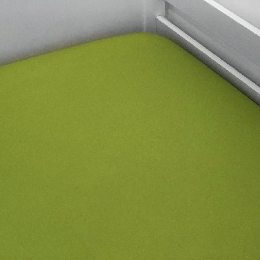 Lençol De Elástico Liso Verde Musgo