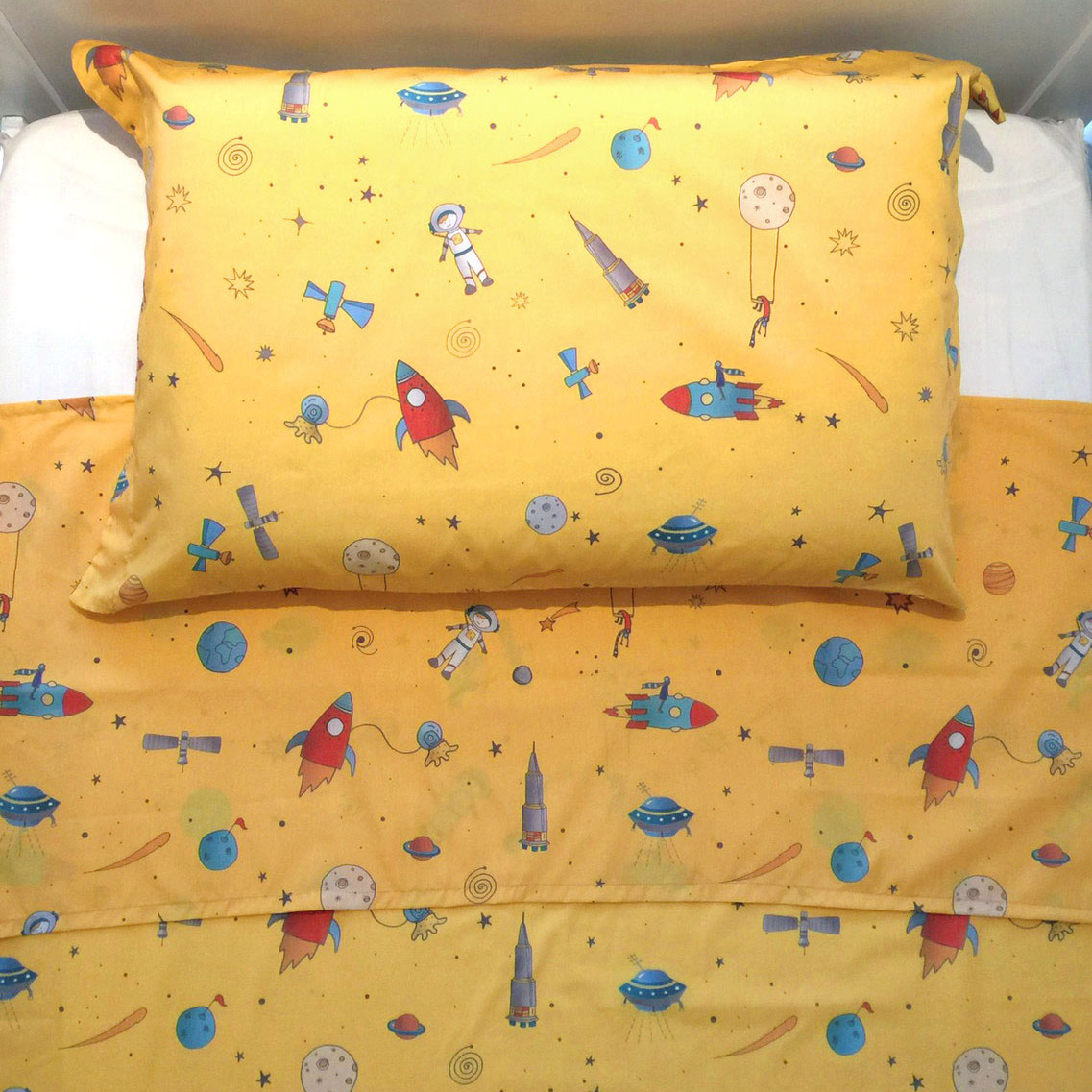Lençol De Cima Espaço Amarelo