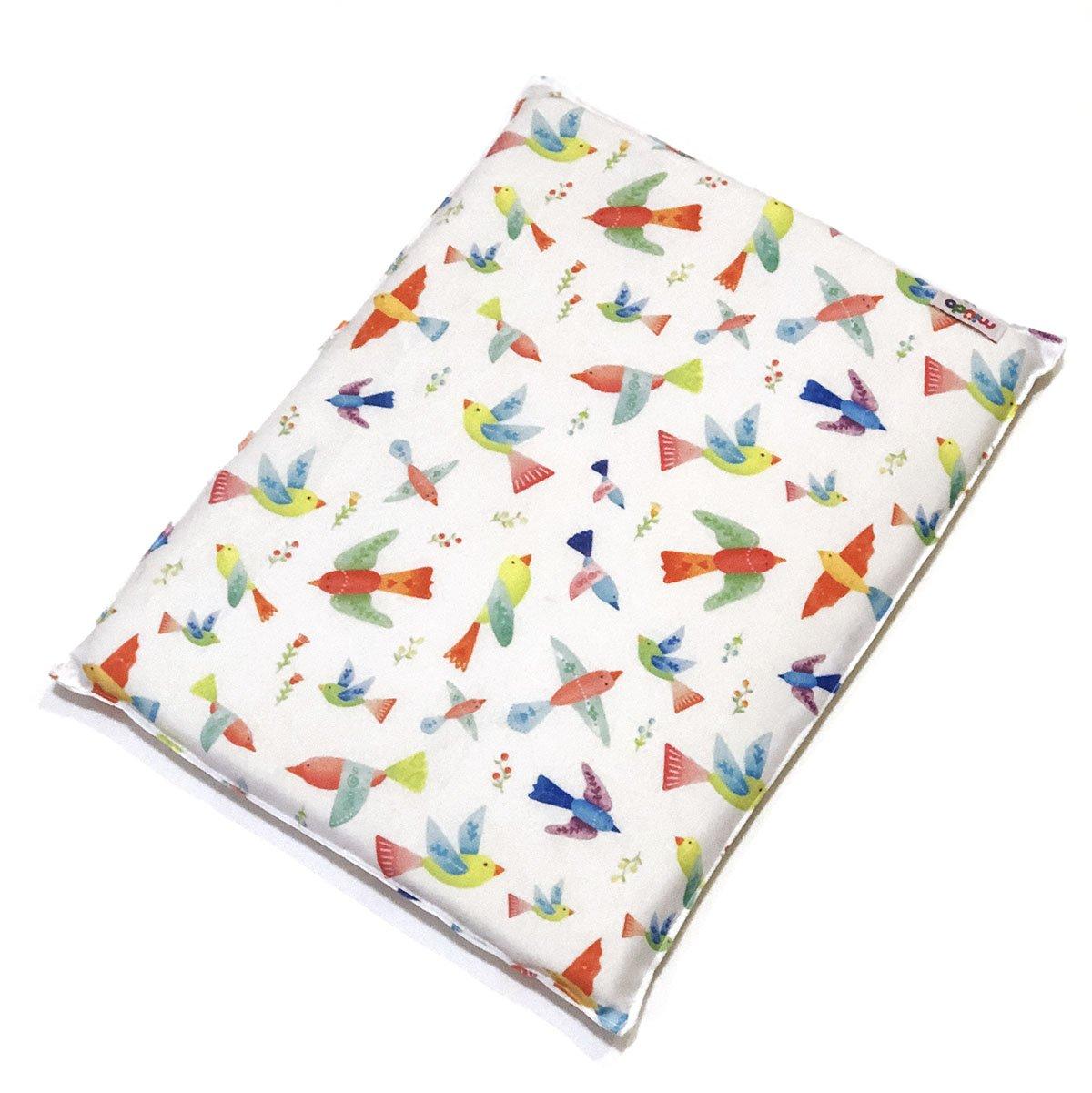 Almofada De Nylon E Espuma Estampa Pássaros