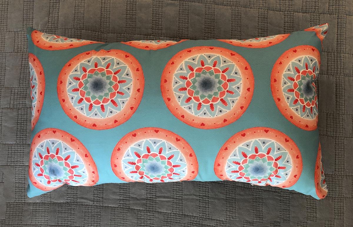 Almofada Mandalas Retangular Estampa 1