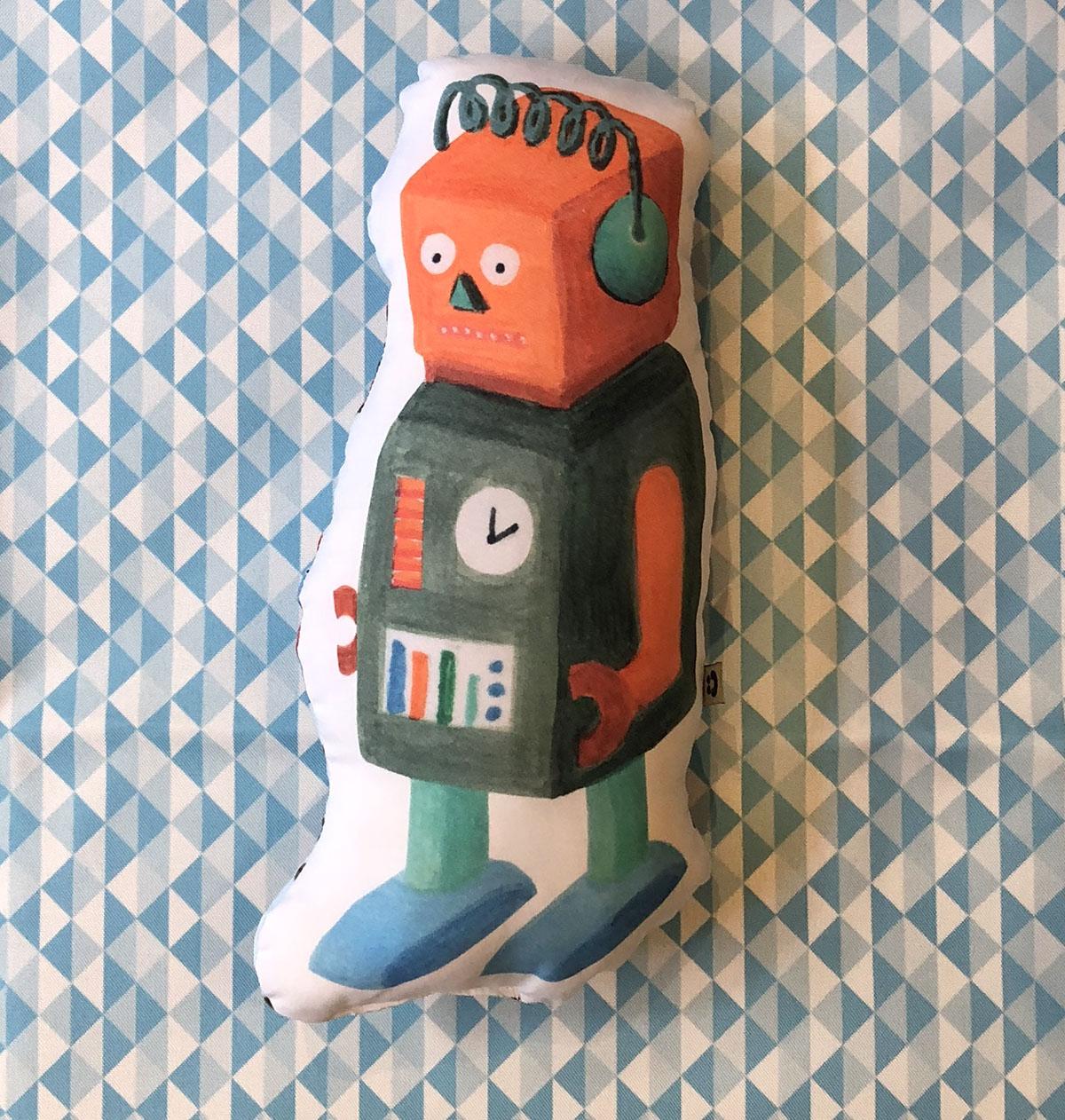 Almofada Toy Robô 2