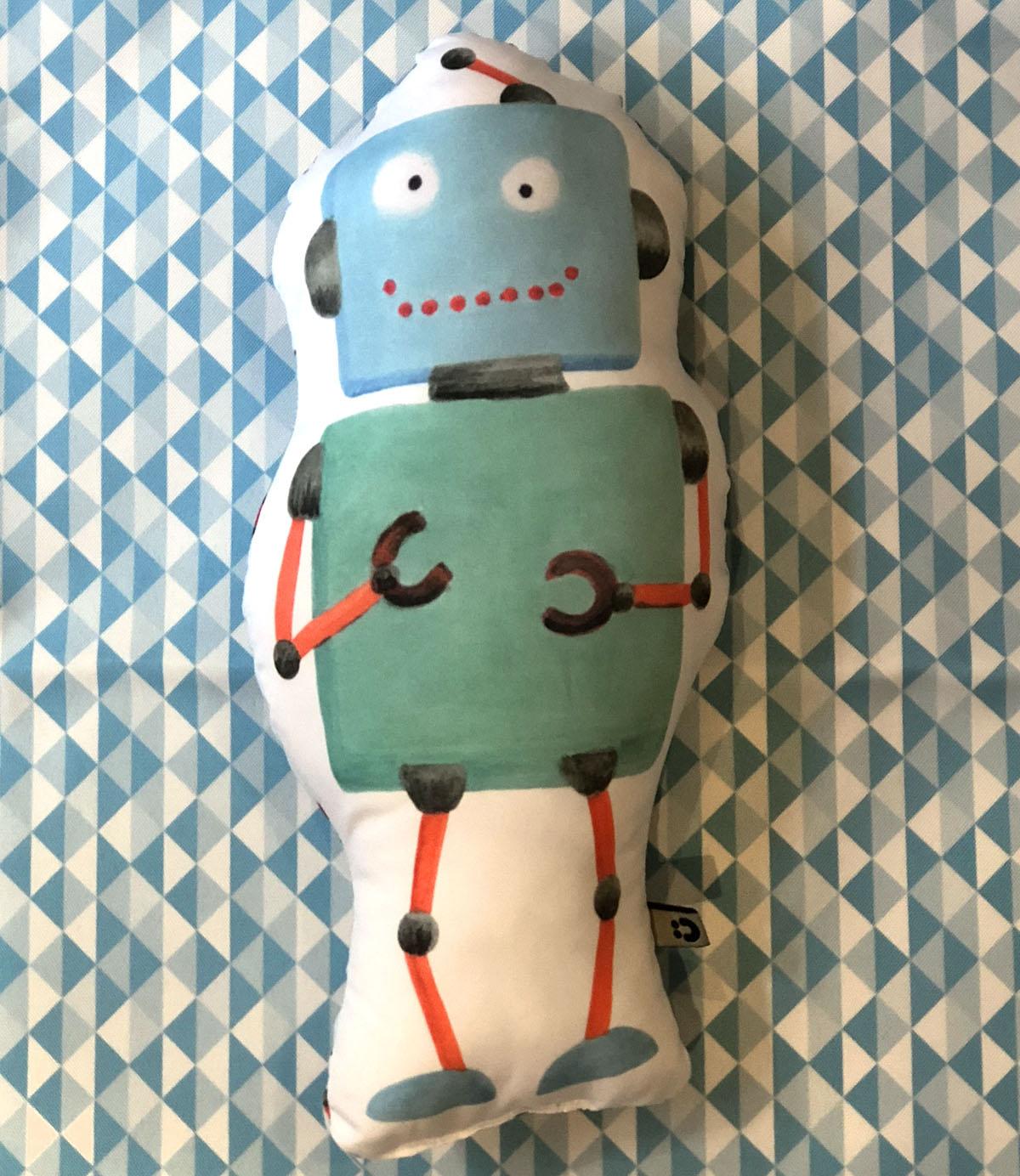 Almofada Toy Robô 1