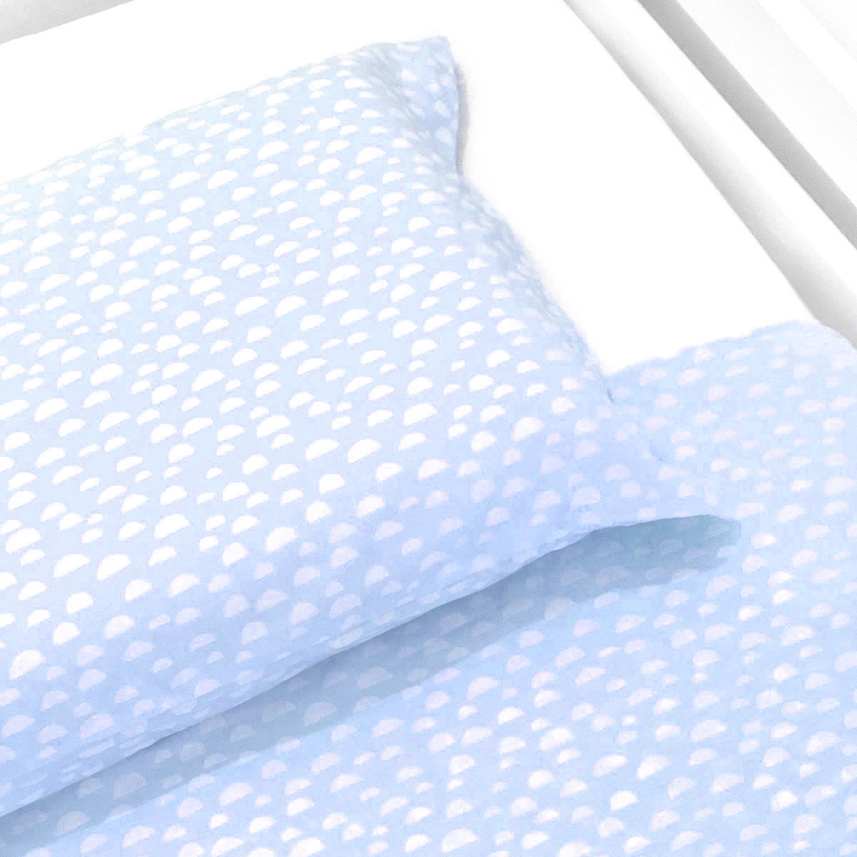 Lençol De Cima Iceberg Azul